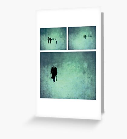 Project ~ People - Triptych Greeting Card