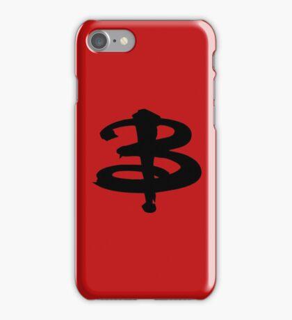 Buffy black iPhone Case/Skin