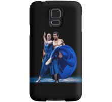 Blue moves Samsung Galaxy Case/Skin
