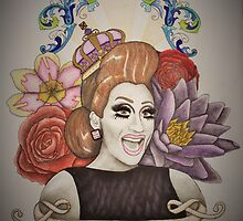 Drawing of Bianca Del Rio by dripwhite