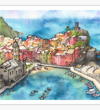 Vernazza - Italy Sticker