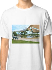 Early Morning Reflections - Lagoon, Airlie Beach, Australia Classic T-Shirt
