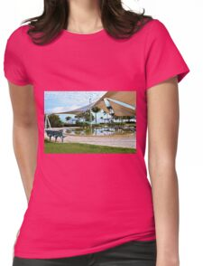 Early Morning Reflections - Lagoon, Airlie Beach, Australia Womens Fitted T-Shirt