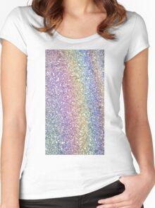 Ground Rainbow Women's Fitted Scoop T-Shirt