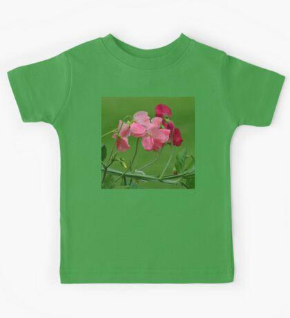 Sweet Peas in Spring Kids Tee