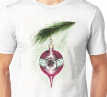 Magenta Christmas Bauble Unisex T-Shirt
