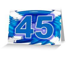 FREE SCOTLAND 45  Greeting Card