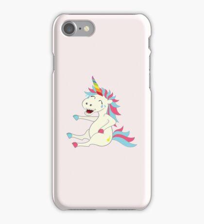 Crazy Unicorn - Hilarious Edition iPhone Case/Skin