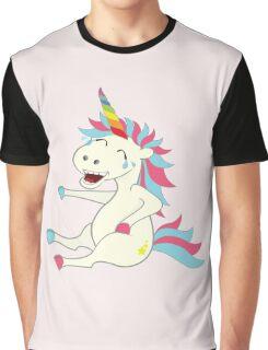 Crazy Unicorn - Hilarious Edition Graphic T-Shirt