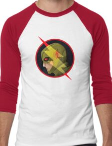Reverse Flash Men's Baseball ¾ T-Shirt