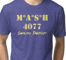 MASH 4077 Swamp Dweller - Yellow Tri-blend T-Shirt