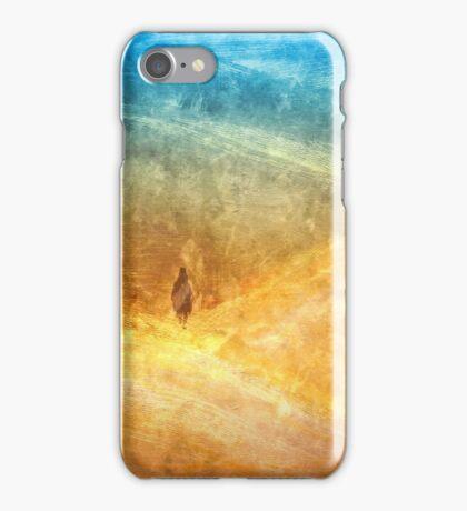 Golden Blue Sands iPhone Case/Skin