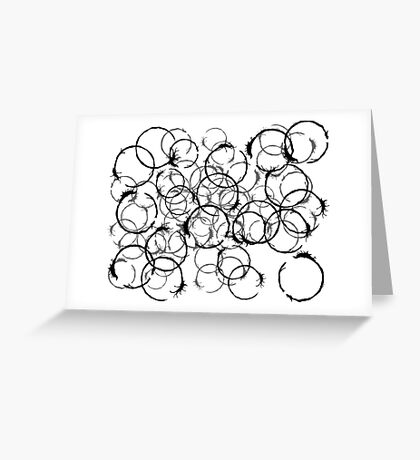 Arrival Movie Circle Language Weapon Greeting Card
