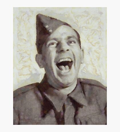 Norman Wisdom, British Comedy Actor Photographic Print