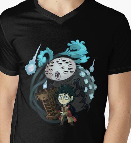 Micolash and Rom Mens V-Neck T-Shirt