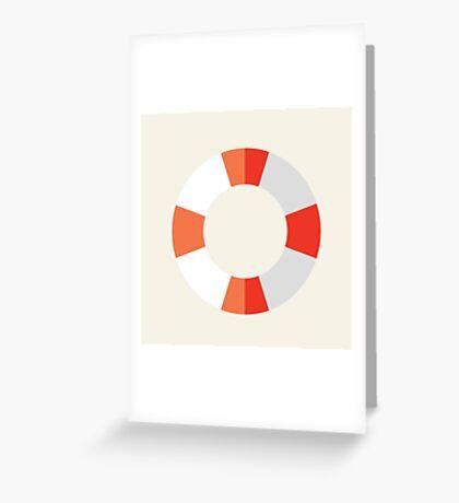 Nautical - Buoy Greeting Card
