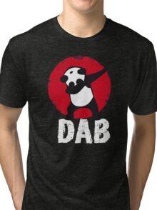 DAB PANDA keep calm and dab dabber dance football touch down Tri-blend T-Shirt