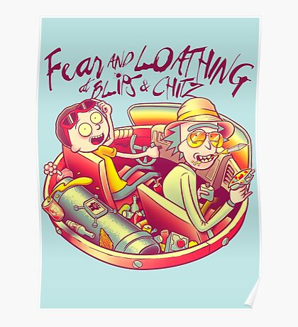 Fear and Loathing at Blips & Chitz Poster