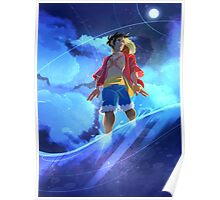 (One Piece) Starry Sky Poster