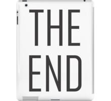 THE END iPad Case/Skin