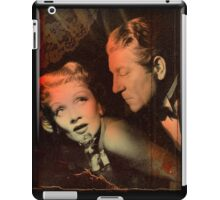 Don't touch that Rose iPad Case/Skin