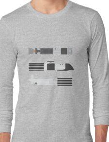 OT Star Wars Lightsaber Trio Long Sleeve T-Shirt