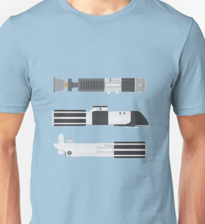 OT Star Wars Lightsaber Trio Unisex T-Shirt