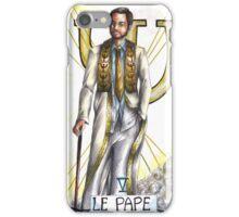 Hannibal tarots - Le Pope iPhone Case/Skin
