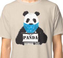 Pabda bär gesucht zeichnung fell schwarz-weiß by cent Classic T-Shirt