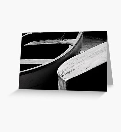 Wooden boats Greeting Card