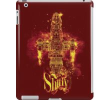 shiny spaceship iPad Case/Skin