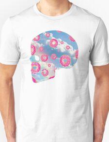 Pink Molly Donut Skull T-Shirt