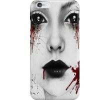 Bloody Girl iPhone Case/Skin