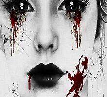 Bloody Girl by shinimitsuki