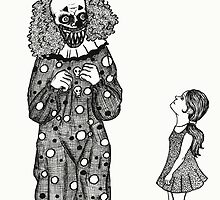 Mr. Teeth, The Smiling Clown by BettyRocksteady