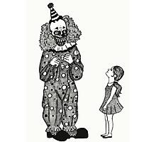 Mr. Teeth, The Smiling Clown Photographic Print