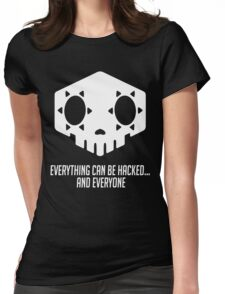 Everything can be hacked... Womens Fitted T-Shirt