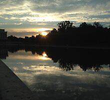 Sunset in Washington D.C. by DEVINN