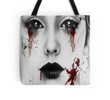 Bloody Girl Tote Bag