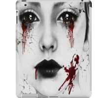 Bloody Girl iPad Case/Skin