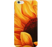 Cropped Sunflower iPhone Case/Skin