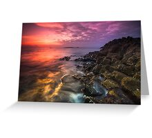 Giant's Causeway  Co Antrim  Northern Ireland Greeting Card