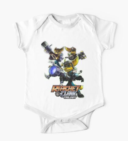 Ratchet & Clank Trilogy  One Piece - Short Sleeve