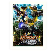 Ratchet & Clank Trilogy  Art Print