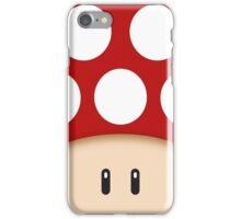 Red Super Mushroom iPhone Case/Skin