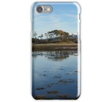 Ben Nevis from Inverscaddle Bay on the shores of Loch Linnhe. iPhone Case/Skin