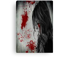 Horror Poster Canvas Print