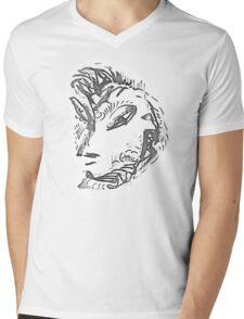 Eurasia Mens V-Neck T-Shirt