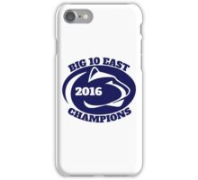 Penn State Football Big Ten East Champions iPhone Case/Skin