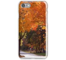 Bright Maple Morning iPhone Case/Skin